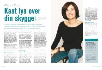 kast lys over skyggen debbie ford